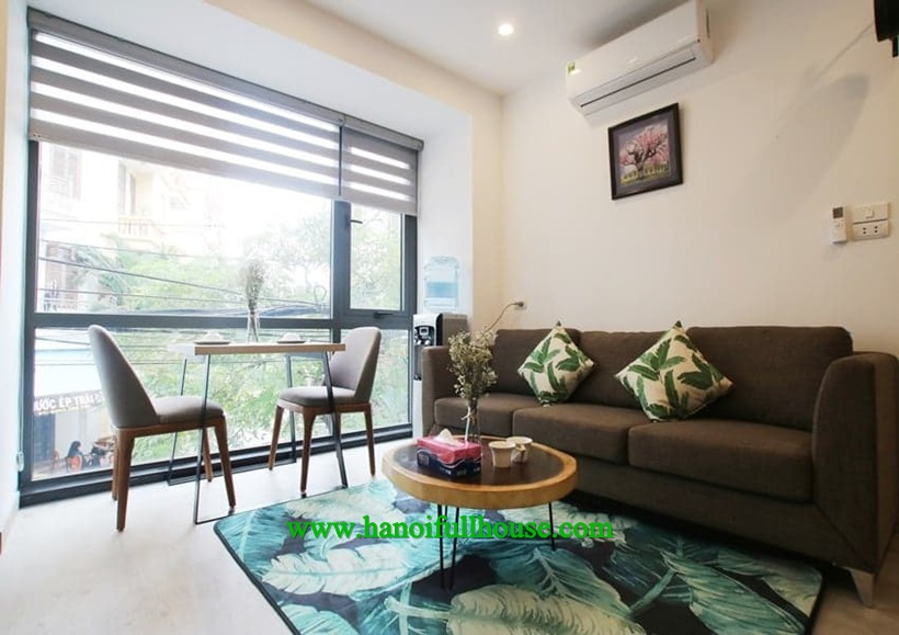 For rent new serviced apartment on Hoang Quoc Viet street