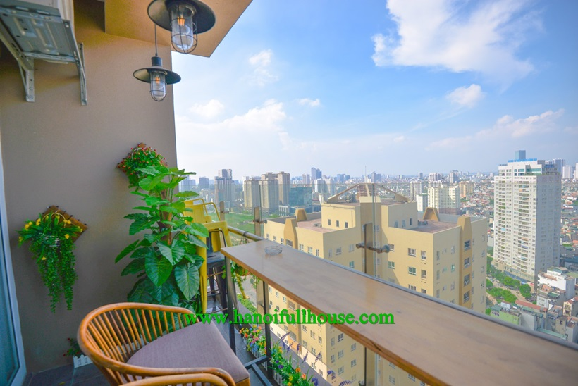 Spacious 3 bedroom apartment for rent in CT4-Vimeco Pham Hung