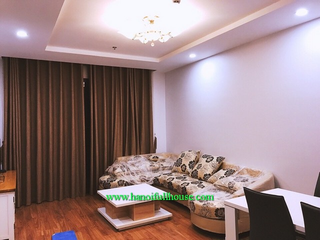 2-bedroom newly furnished apartment in block T1 of Times City urban for lease, good price