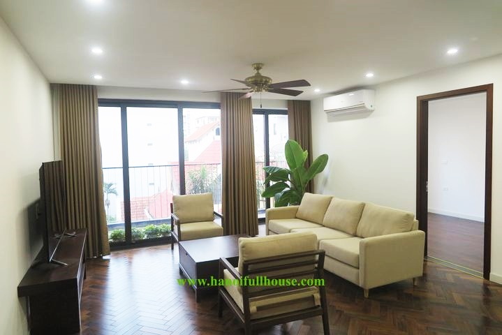 Beautiful and brand new 4 bedroom apartment for a family in Tay Ho, Hanoi