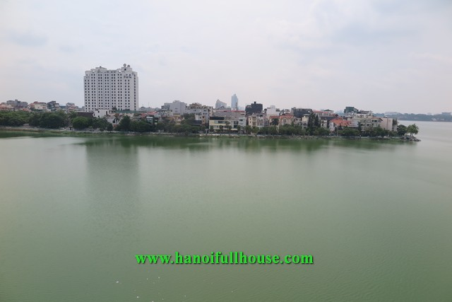 Beautiful apartment on Quang An street, large balcony, great view for rent.