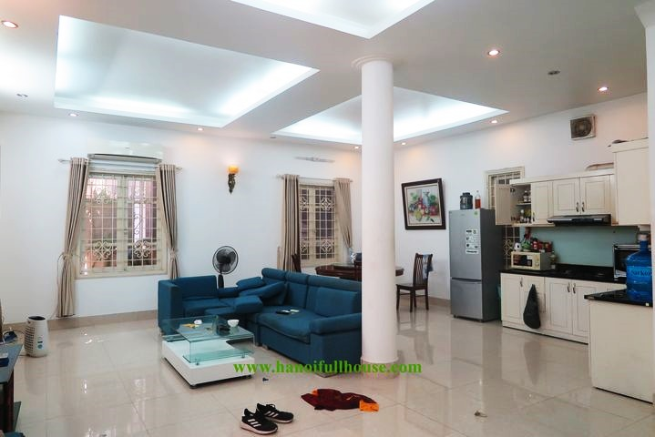 Fully furnished 4 bedroom house for rent, with large terrace in Tay Ho
