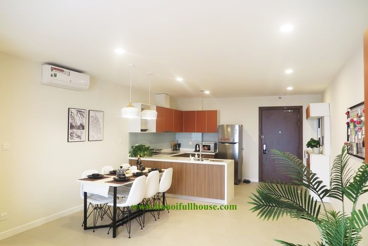 Kosmo apartment in Tay Ho for rent, 2 bedrooms, modern furniture