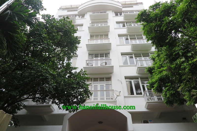 A great apartment with 2 bedrooms, luxury equipments, big balcony for rent now