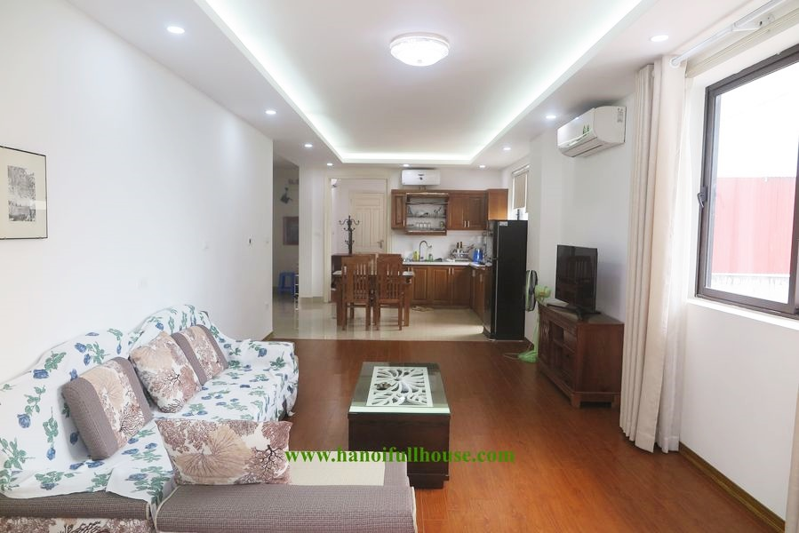 2-bedroom apartment with more than 100 square meters, full of light for rent in Tu Hoa street