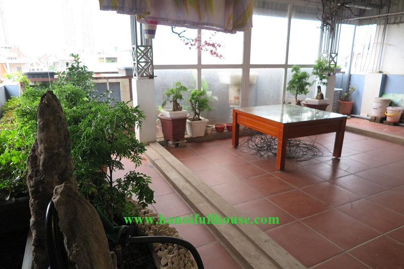 Hanoi Housing with 07 bedrooms, 08 bathrooms on quite street, Phu Xa, Tay Ho district for lease