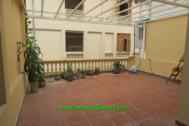 $1000/4BRs House in Tran Phu, Ba Dinh for rent