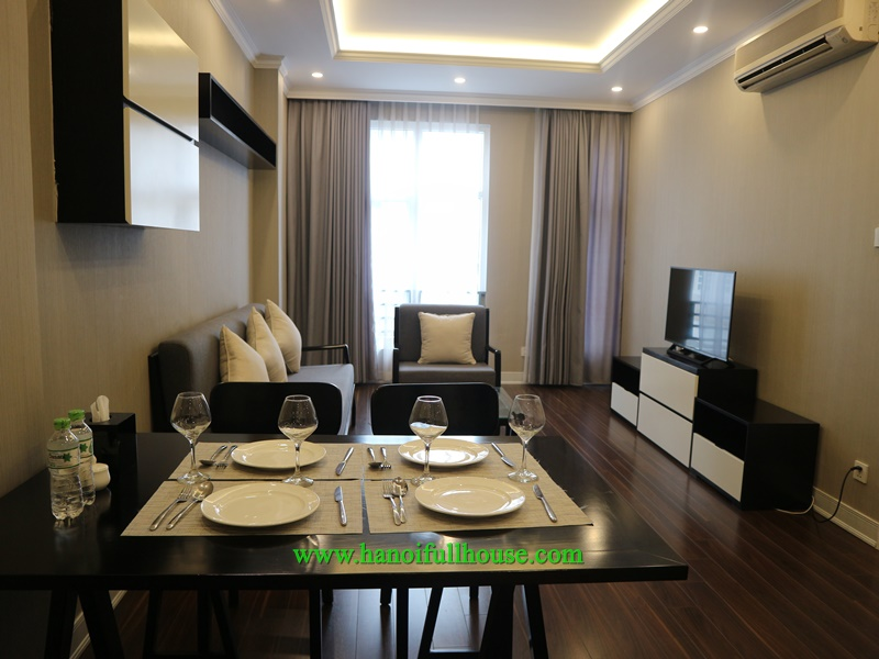High quality Japanese-style 1 bedroom apartment for rent right The Vincom-Ba Trieu