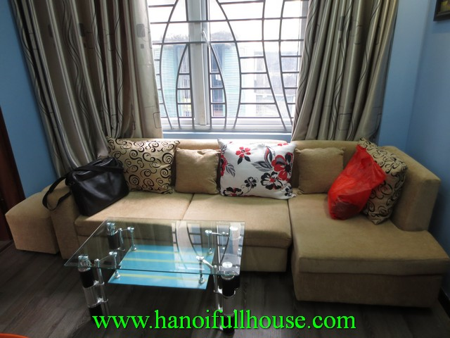Nice serviced apartment with 1 bedroom for rent in Hoan Kiem dist, Hanoi