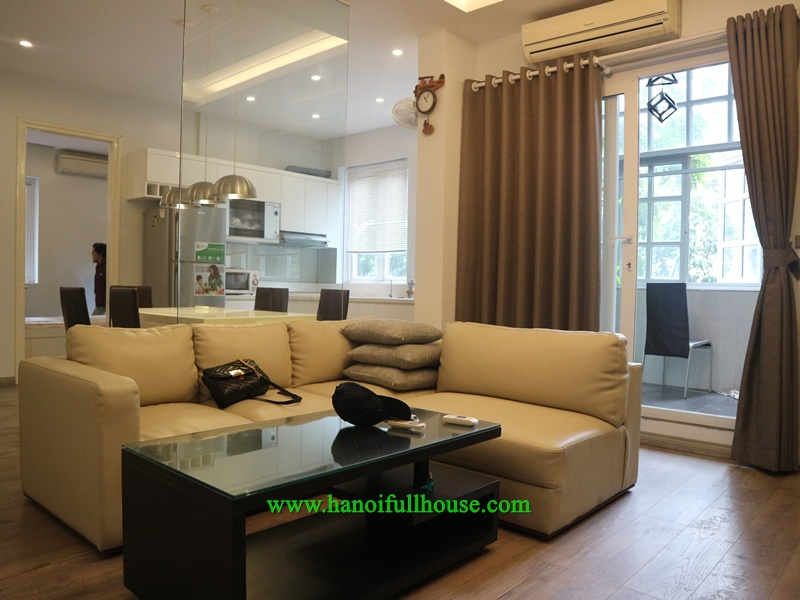 Beautiful architecture style apartment with 2 bedrooms near Opera house, Hoan Kiem dist for lease
