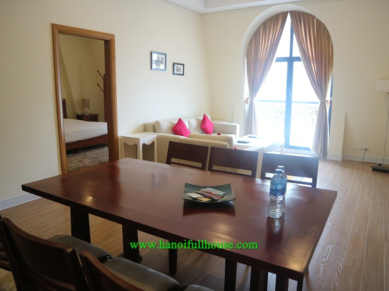 High-class serviced apartment for rent on high floor in Pacific Building - 83 Ly Thuong Kiet