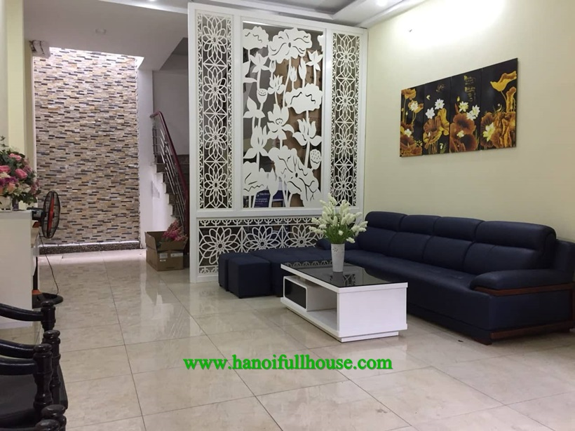 High quality new house with 4 bedrooms in Ba Dinh, Ha Noi