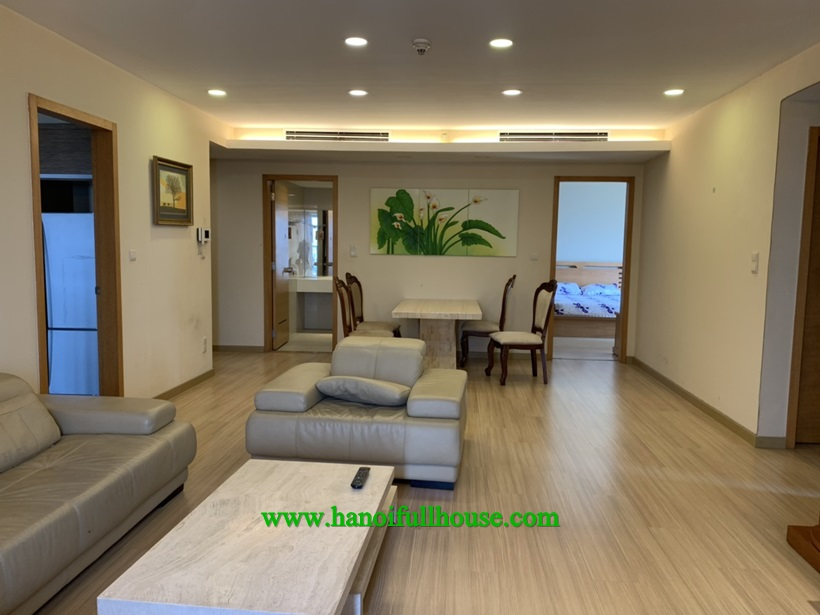 Full furnished 3 bedroom apartment in Sky city 88 Lang Ha