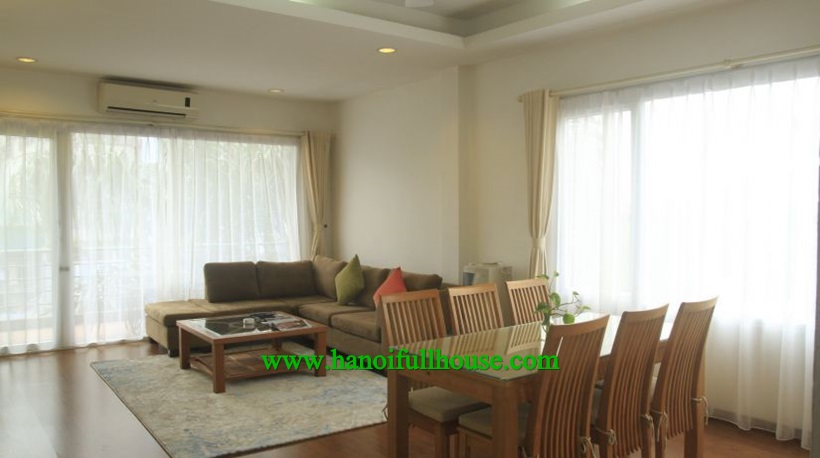 Charming furnished apartment with full service in Ba Dinh,close to Lotte center