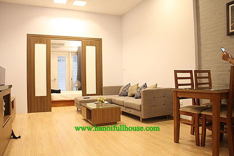 For rent one bedroom apartment with big balcony ,full service near Lotte center