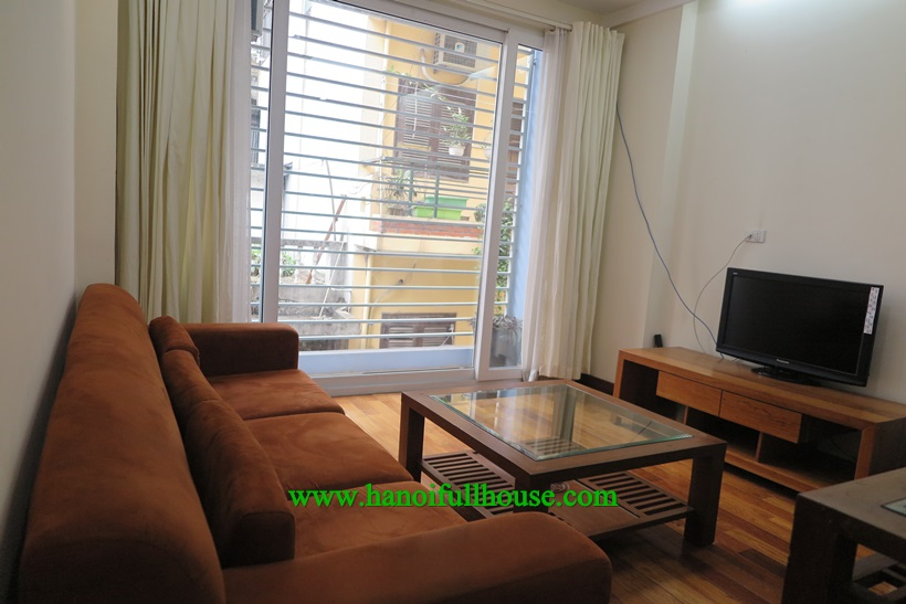 Beautiful one bedroom apartment for rent in Ba Dinh,Ha Noi