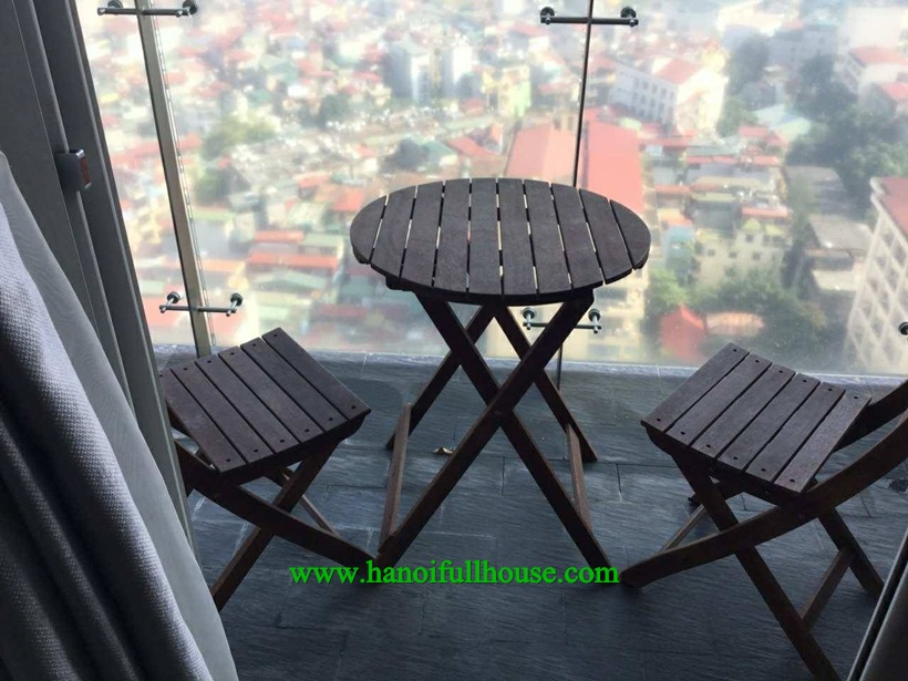 High floor apartment for rent in Lancaster Nui Truc : Gym, swimming pool,spa,...