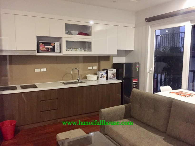 Modern apartment with full furniture ,a lot of light in Ba Dinh, Ha Noi