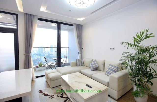 Modern style 3 bedroom apartment, 2 balconies in Metropolis Lieu Giai for rent
