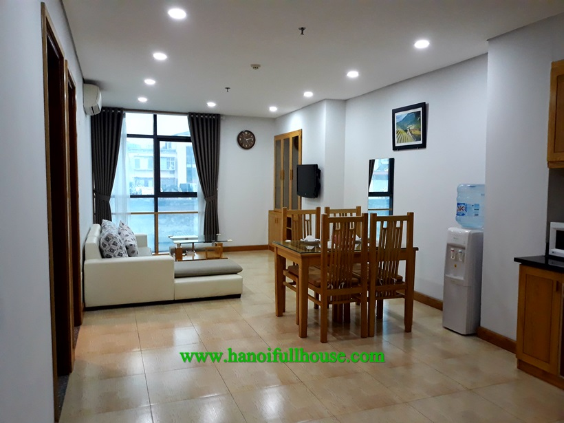 Serviced apartment for rent in Ba Dinh, near Lotte center