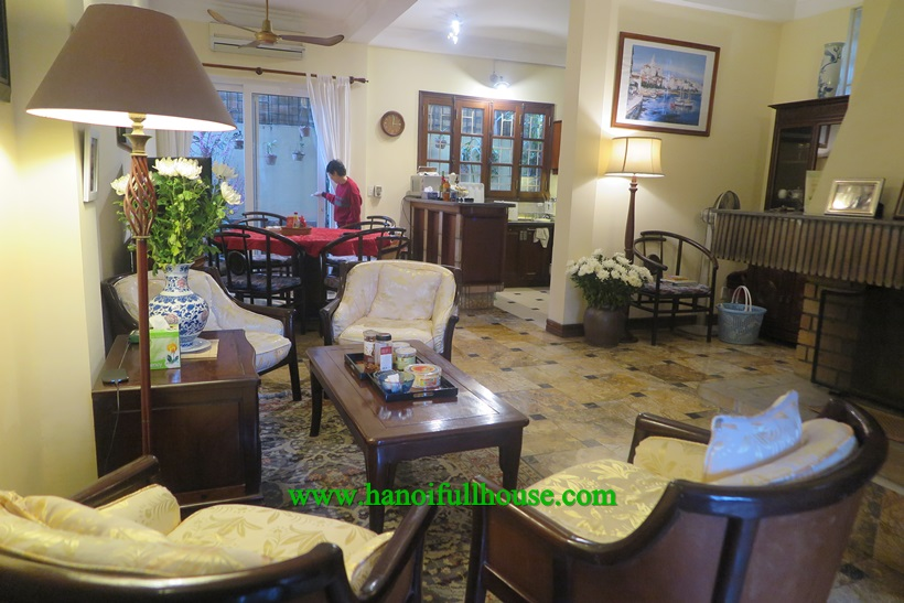 beautiful garden homes for rent. Garden house for rent in Ngoc Thuy  Long Bien dist near French school Housing service agency foreigners the most beautiful