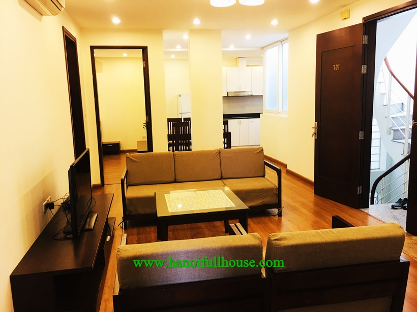 Furnished 3 bedroom apartment for rent near Cau Giay Park