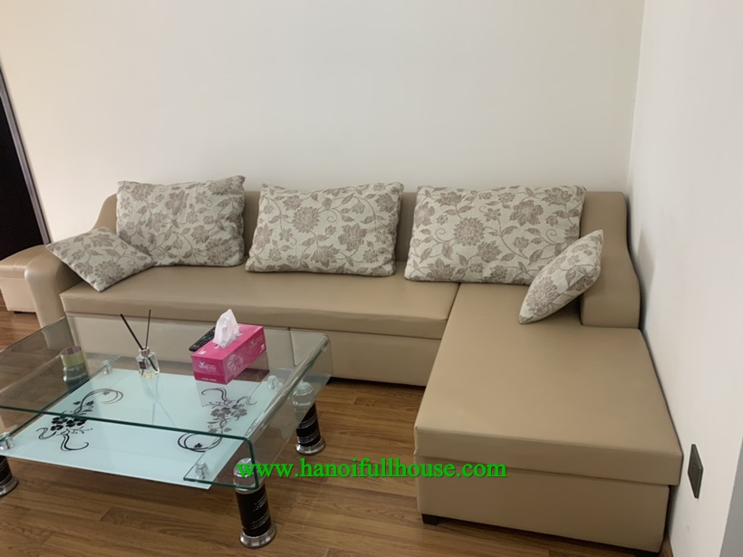 Modern and nice 2 bedroom apartment ,a lot of light in Home City Trung Kinh
