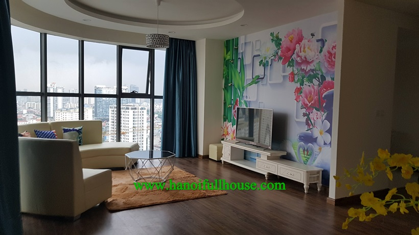 3 bedroom apartment in Golden Palm Le Van Luong is available