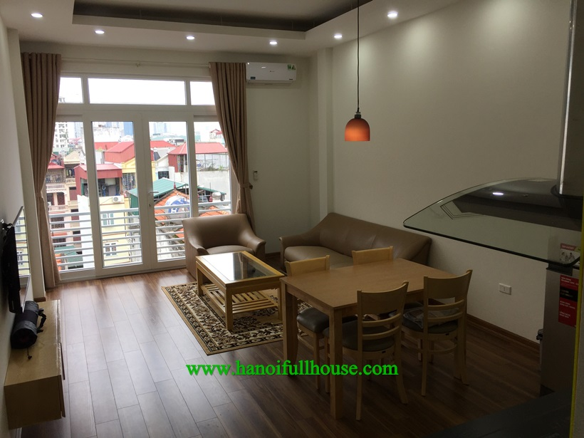 Serviced apartment in Ba Dinh with balcony