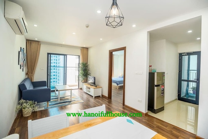Two bedroom apartment with luxury furniture in Goldmark city 36 Ho Tung Mau