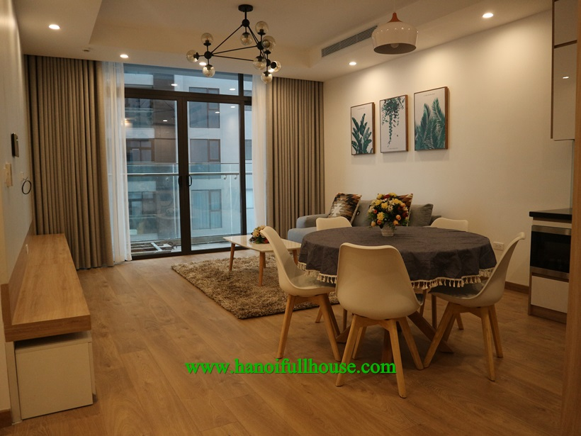 Gorgeous apartment in Sun Grand Thuy Khue for rent