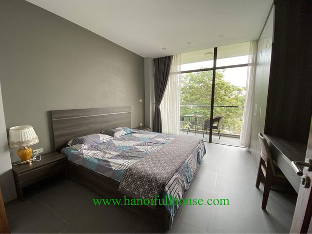 Brand new one bedroom with balcony in Tay Ho dist for rent