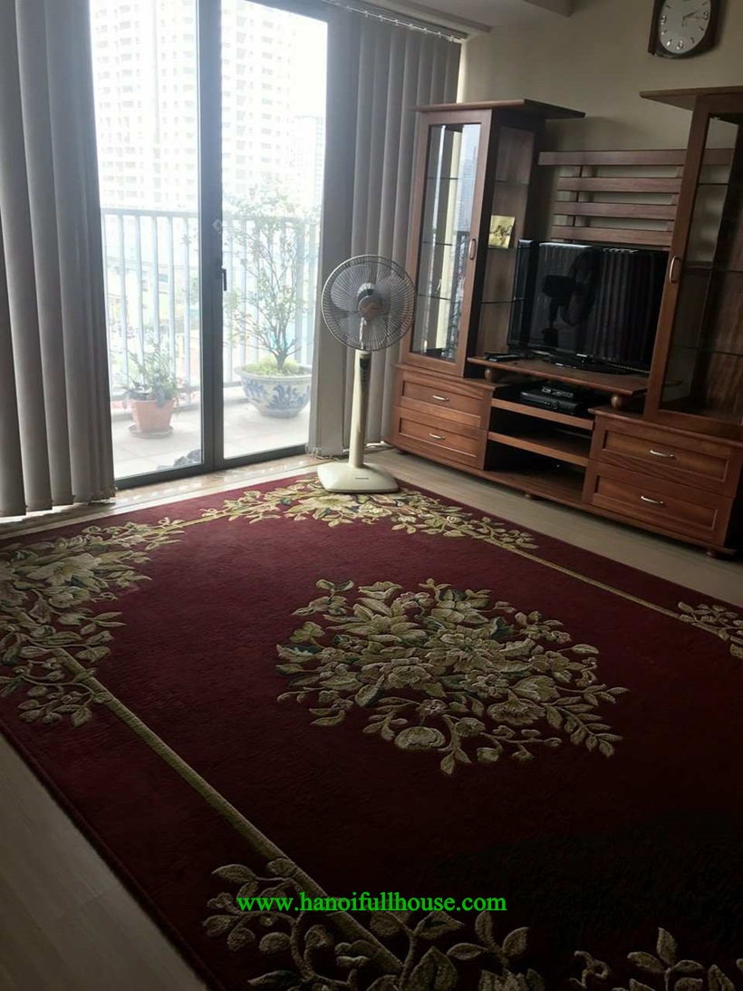 2 bedroom apartment in Sky city 88 Lang ha for lease