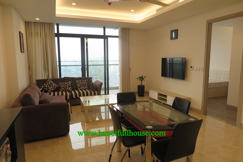 Cozy beautiful and modern style apartment in Sun Grand 69B Thuy Khue