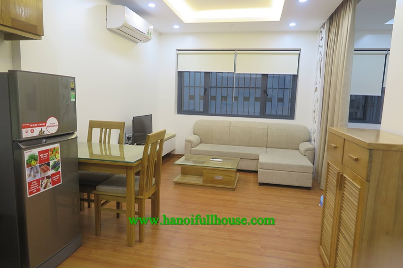Serviced apartment for rent on Dao Tan street, Ba Dinh district