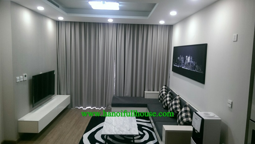 Modern 3 bedroom apartment for rent in Sun Grand Thuy Khue
