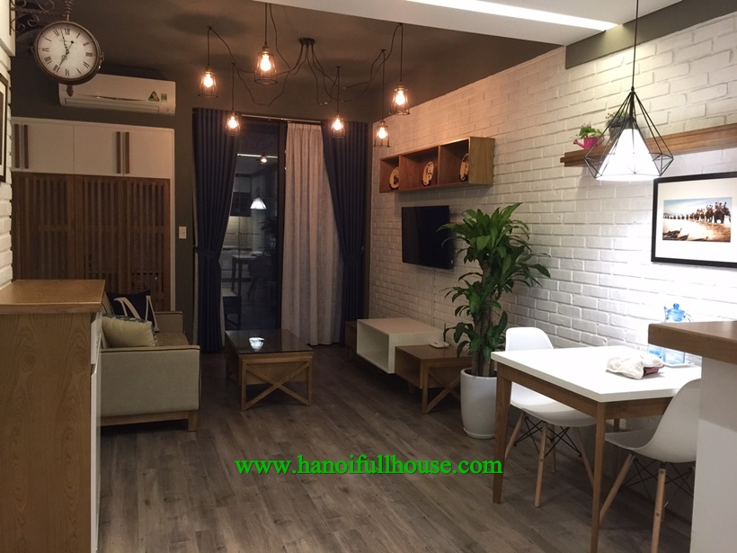 For rent a studio apartment in Lieu Giai, Ba Dinh