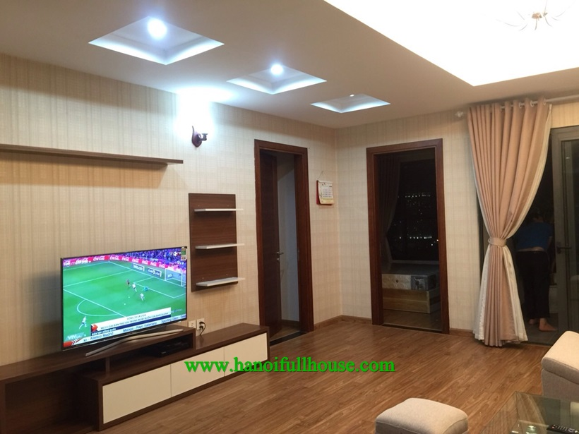 Apartment with 02 bedrooms and balcony in Star city Le Van Luong