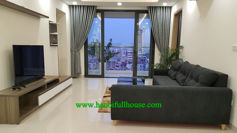 3 bedroom apartment for rent, well-furnished and modern style in Sun Square Le Duc Tho, My Dinh