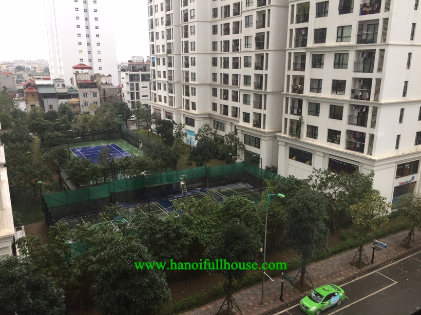 For rent apartment: 2 bedrooms, full furnished, a lot of light in Times city Hai Ba Trưng