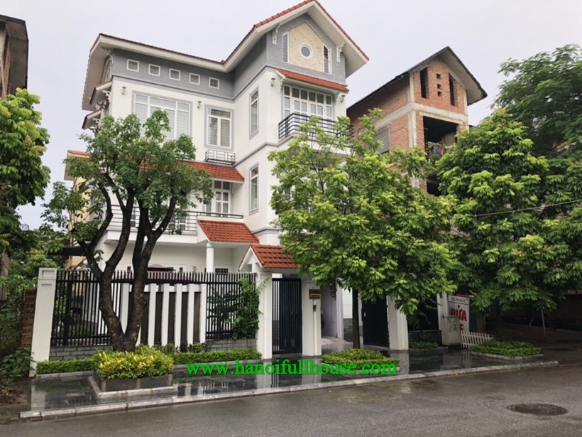 Nice 5 bedroom Villa with full furnished in Viet Hung Urban, Long Bien dist