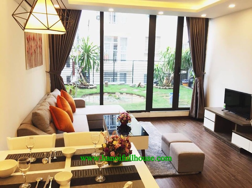 So cool apartment with charming balcony in Ba Dinh center