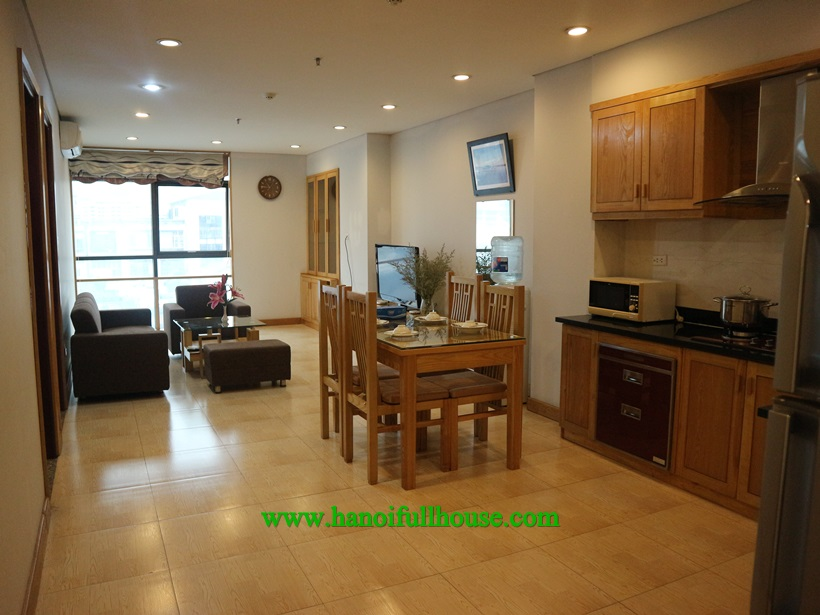 Nice 2 bedroom apartment for rent on Kim Ma Thuong street,Ba Dinh dist