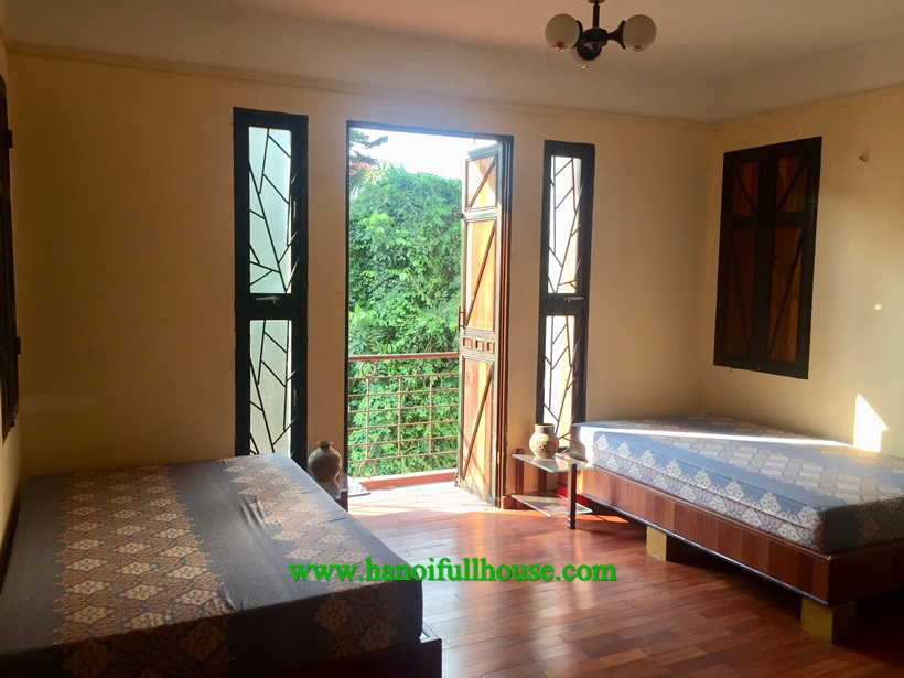 Long Bien for rent 2 bedroom apartment with garden yard