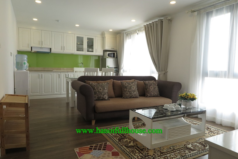 For rent nice one bedroom apartment near Ngoc Khanh lake,Ba Dinh dist
