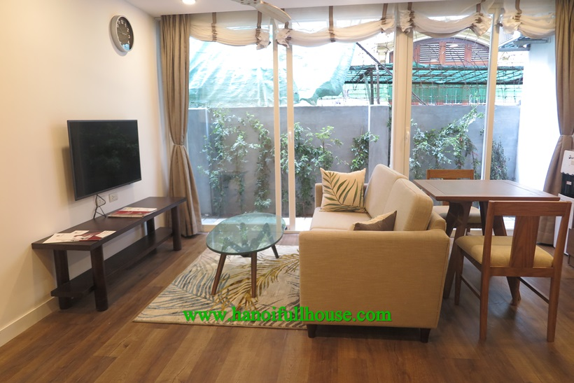 Serviced apartment for rent in Ba Dinh, Hanoi, spacious and cozy