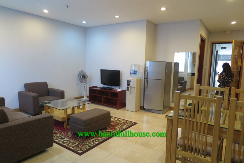 Well-designed apartment ,full service on Kim Ma Thương street for rent
