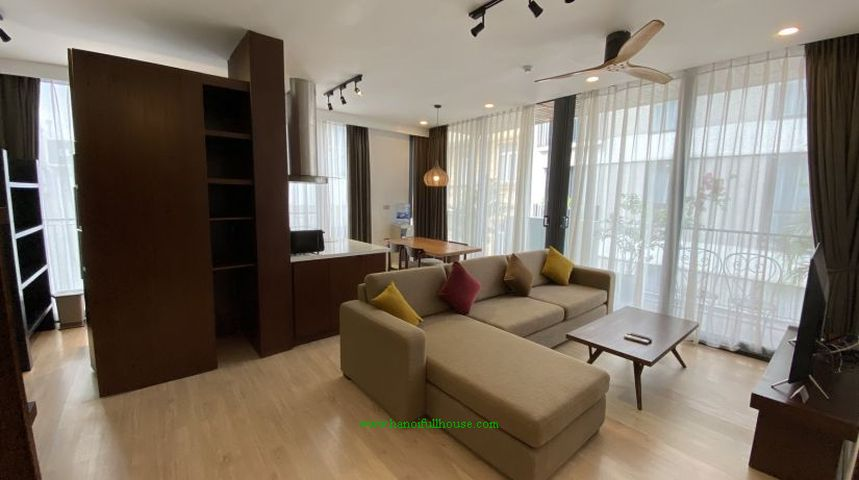 Fully furnished 3 bedroom apartment near Thu le Lake for rent