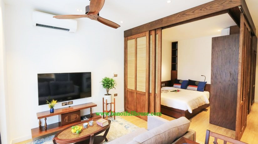 Newly Japanses tyle serviced apartment with one bedroom for rent