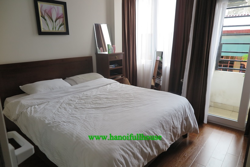 A serviced apartment for rent on Tran Quy Kien, Cau Giay street